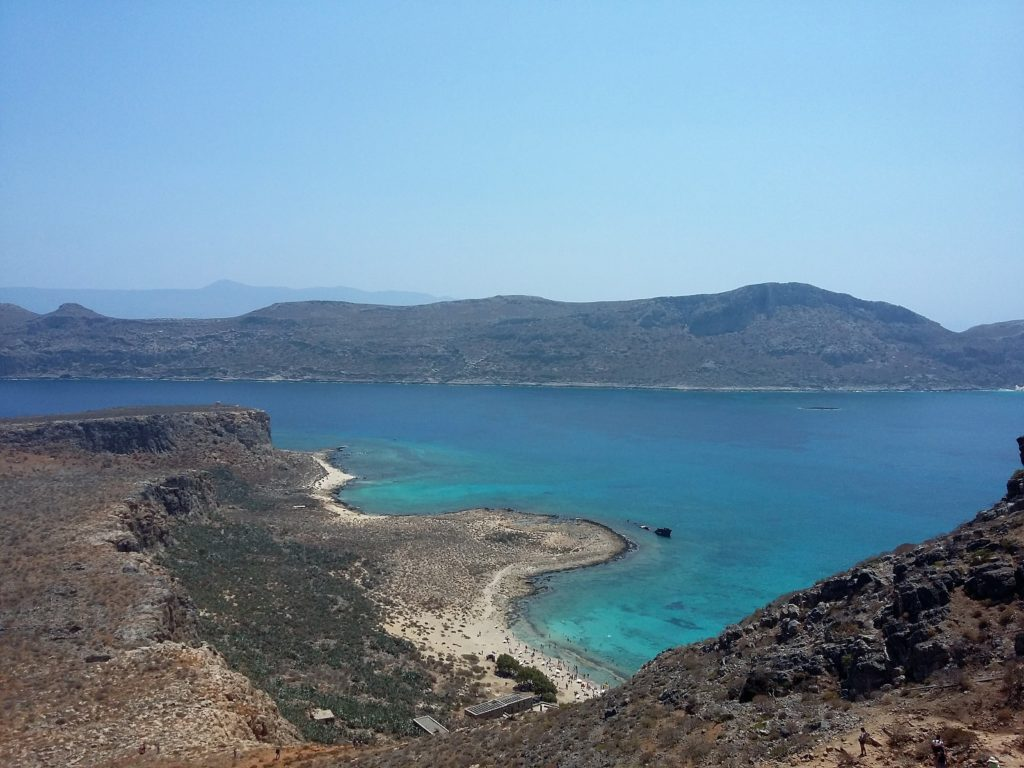 The view from the hill, Gramvousa Crete