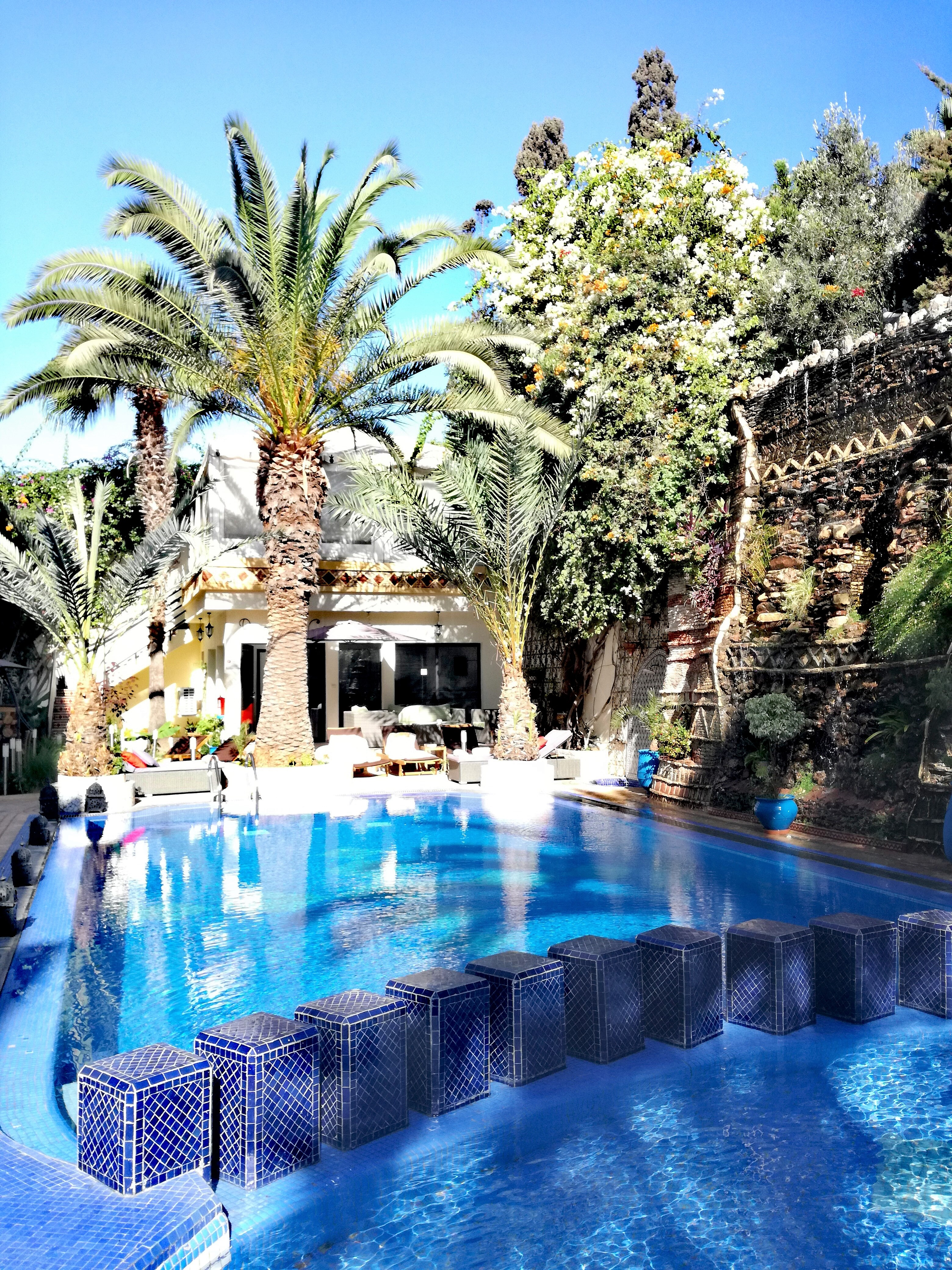 agadir hotel pool morocco