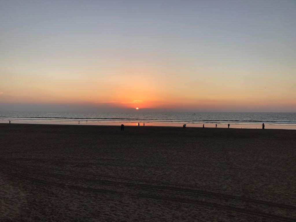 agadir sunset morocco