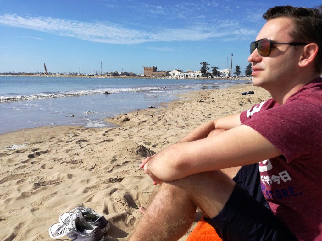 morocco essaouira beach ocean