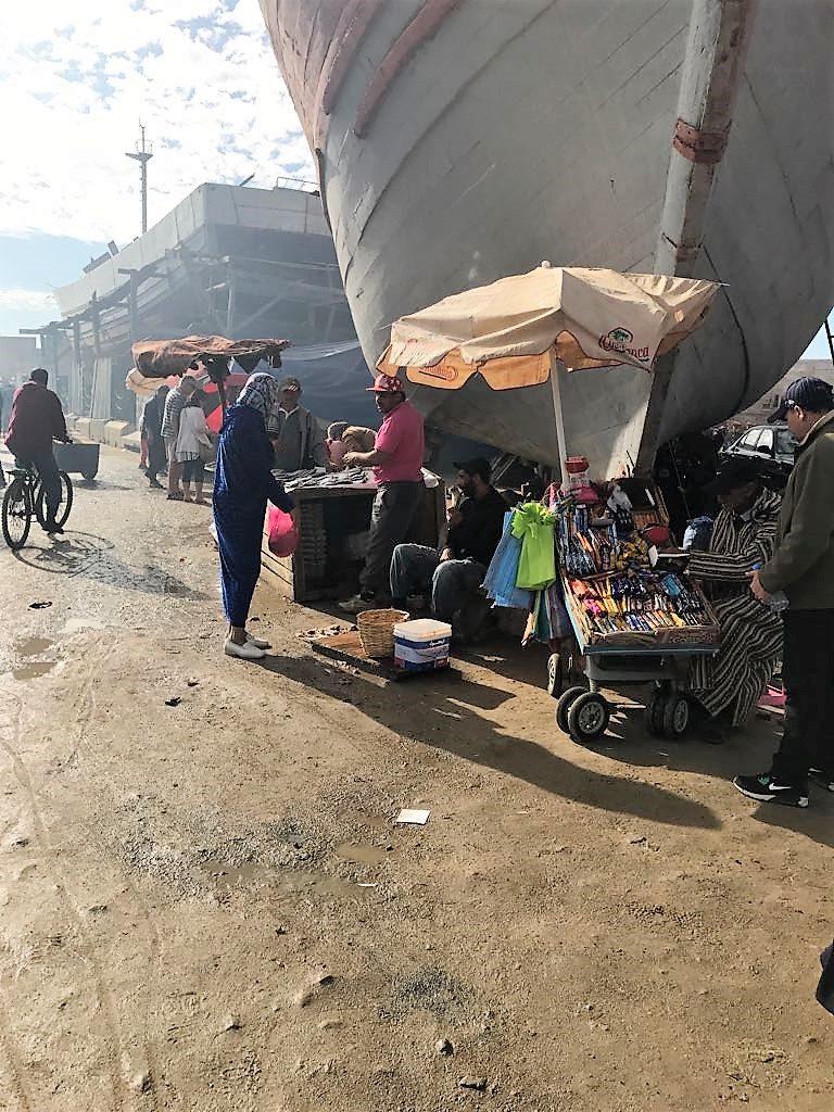 morocco essaouira port