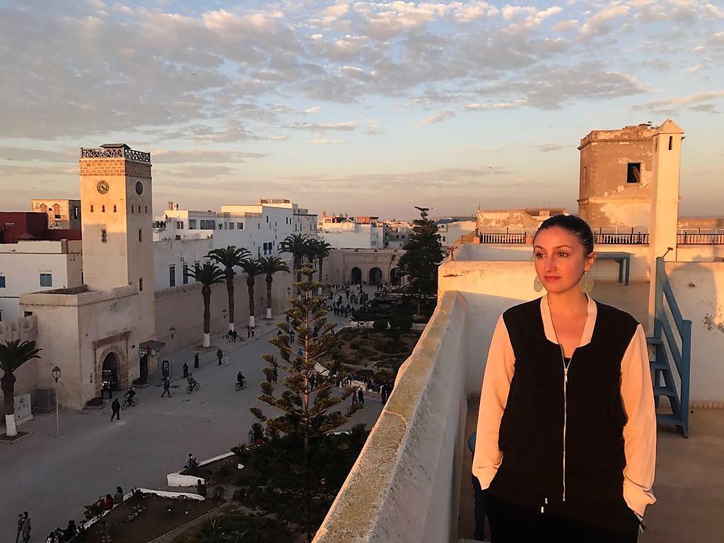 morocco essaouira town sunset