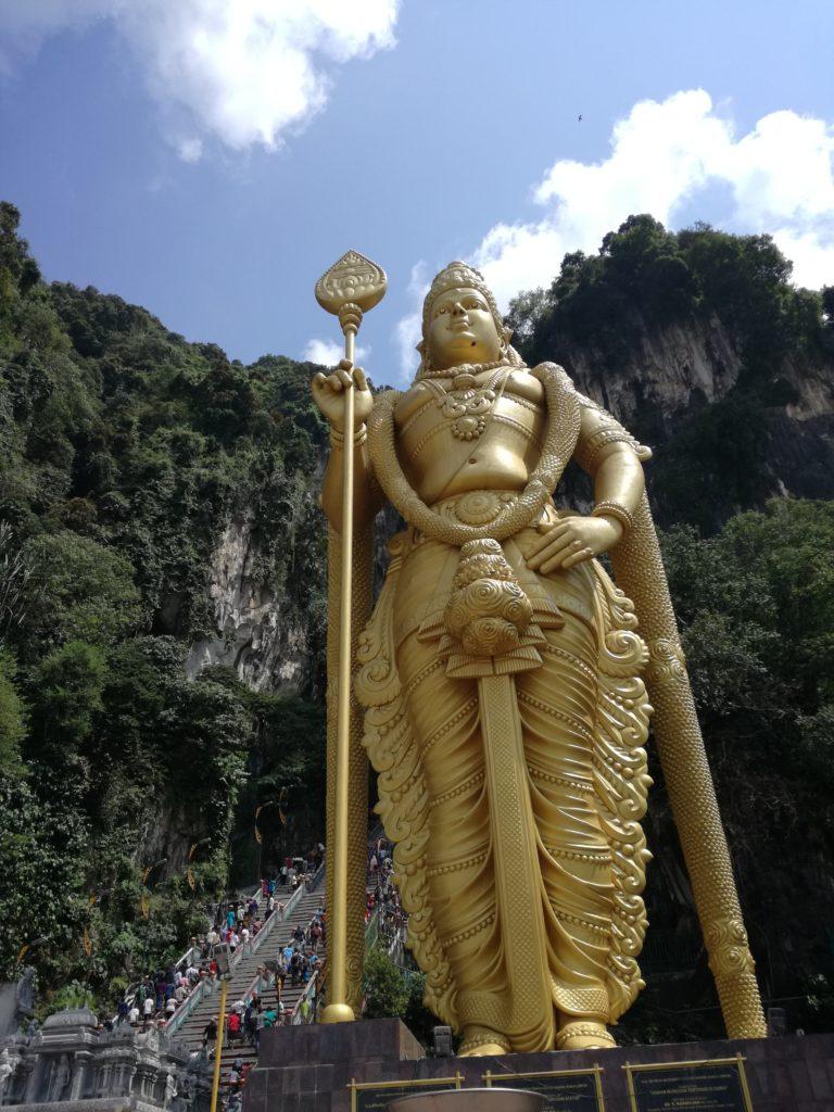 Lord Murugan Statue batu caves kuala lumpur